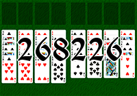 Solitaire №268226