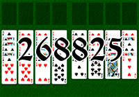 Solitaire №268825