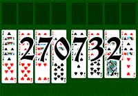 Solitaire №270732
