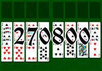 Solitaire №270800