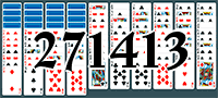 Solitaire №271413