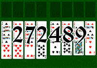 Solitaire №272489