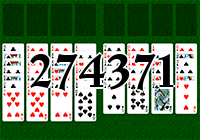 Solitaire №274371