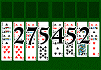 Solitaire №275452