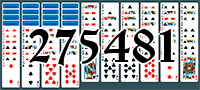 Solitaire №275481