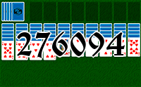 Solitaire №276094