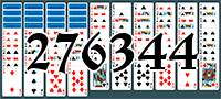Solitaire №276344