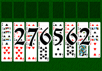 Solitaire №276562