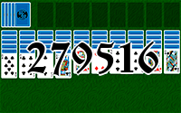 Solitaire №279516