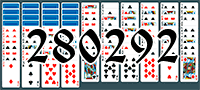 Solitaire №280292