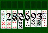 Solitaire №280693
