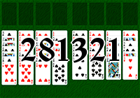 Solitaire №281321