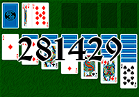 Solitaire №281429