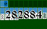 Solitaire №282884