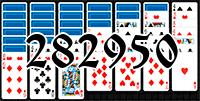 Solitaire №282950