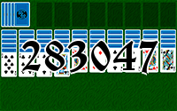 Solitaire №283047