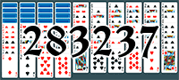 Solitaire №283237