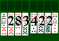 Solitaire №283422
