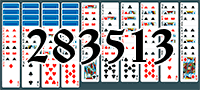 Solitaire №283513