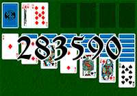 Solitaire №283590