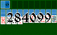 Solitaire №284099