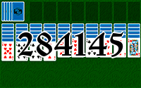 Solitaire №284145