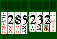 Solitaire №285232