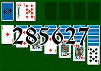 Solitaire №285627