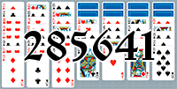 Solitaire №285641