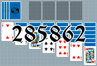Solitaire №285862