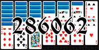 Solitaire №286062