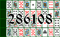 Solitaire №286108