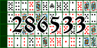 Solitaire №286533