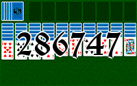Solitaire №286747