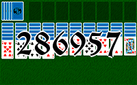 Solitaire №286957