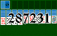 Solitaire №287231