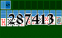 Solitaire №287413