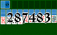 Solitaire №287483