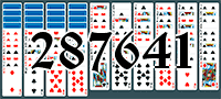 Solitaire №287641