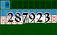 Solitaire №287923