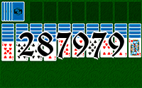 Solitaire №287979