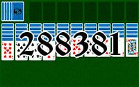 Solitaire №288381