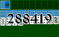 Solitaire №288419