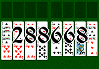 Solitaire №288668