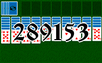 Solitaire №289153