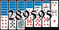 Solitaire №289595
