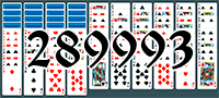 Solitaire №289993