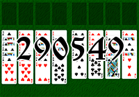 Solitaire №290549