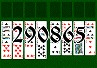 Solitaire №290865