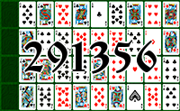 Solitaire №291356
